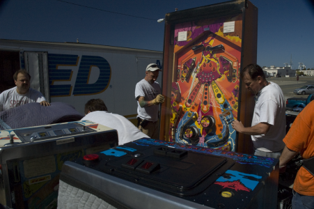 Hercules: the world's largest Pinball machine
