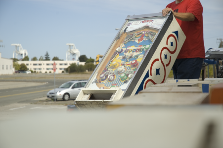 Loading a Pinball machine for the PPE